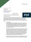 Letter to the International Criminal Court regarding the Hamas