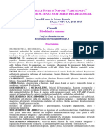 Biochimica Umana Matricole Dispari 1415