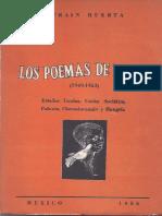 Los Poemas de Viaje -Efraín Huerta
