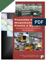 Tasacion de Maquinaria Planta y Equipo Formato BLOK