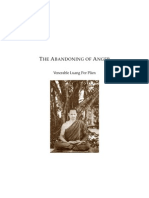 The Abandoning of Anger