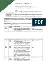edtpa task 1 b lesson plans