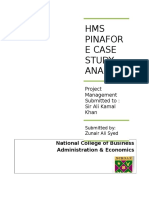 Hms Pinafore Case Study Analysis