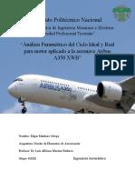 Analisis Parametrico A350 XWB