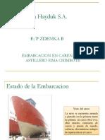 REPARACION DE EMBARCACION PESQUERA