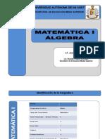 Programa de Matematica i