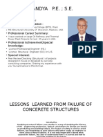 Failure of Structures