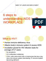 Understand HIV and AIDs in Workplace