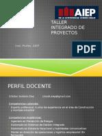 Taller de Integrado de Proyectos Finalpptx