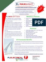 FL Maxilight 1 Page Brochure