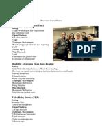 observation journal entries