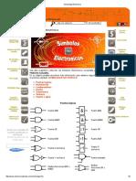 Simbología Electrónica