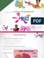 Surf Excel Workshop (Product overview)
