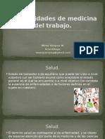 1. Generalidades de Medicina Del Trabajo. [40647]