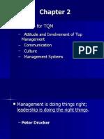 Chapter 2, Leadership for TQM
