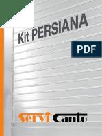 Catalogo Persianas SERVICANTO