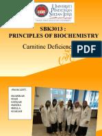 Carnitine Deficiency