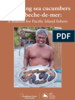 Processing Sea Cucumbers Into Beche-De-mer - A Manual for Pacific Island Fishers
