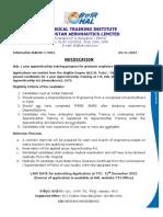 Graduate- Diploma Notification