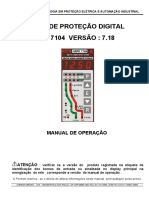 Manual Do Rele Urpe7104