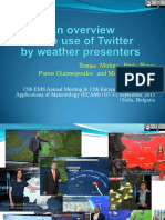 Twitter and Weather Presenters_giannopoulosEMS2015 528 Presentation