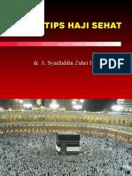 Tips Haji Sehat