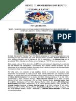 Nota de Prensa CSSDB