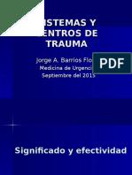 Centros de Trauma