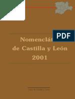 Nomenclátor de Castilla y León