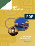 52nd AESGP Annual Meeting