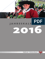 SSB Jahreskalender 2016