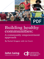 Building Healthy Communities, A Community Empowerment Approach