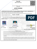 Drugs Sale Application Form