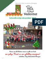 Krantje December 2015