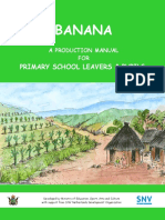 Banana Production Manual Primary School