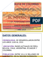 Imperio Inca Prof. Rosa Saenz
