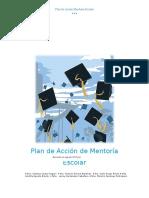 Plan de Acción Mentoría Escolar  Revisado agosto 2015