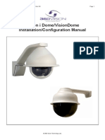 Vision i Dome VisionDome Installation Manual Ver 2 8