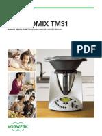 Romanian Thermomix TM31 Instruction Manual RO