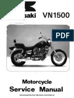 Kawasaki VN1500 87-99 Service Manual