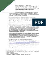 Nota de Prensa-#BuenaChamba-Ley de 1er Empleo Digno y Productivo