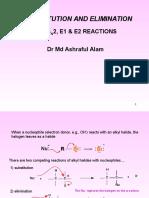 SN1 SN2 E1 E2 Reaction PHR-122.ppt