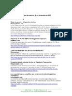 Boletín de noticias KLR 18DIC2015