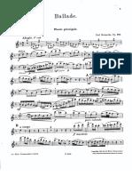 IMSLP58595-PMLP120183-Reinecke Ballade Op288 Flute