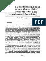 Báez-Jorge, Félix - Homshuk y El Simbolismo de La Ovogénesis en Mesoamérica (Reflexiones en Torno a Los Radicalismos Difusionistas)