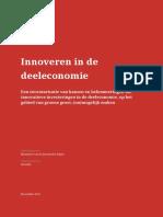 ShareNL EZ Innoveren in de Deeleconomie 18 12 2015