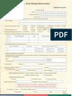 Account Opening procedure