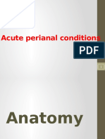 01- Acute Perianal Conditions