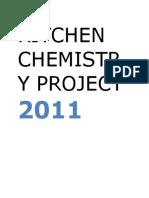 Kitchen Chemistry Project