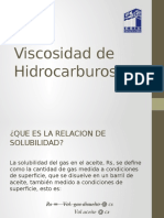 Viscosidad de Hidrocarburos
